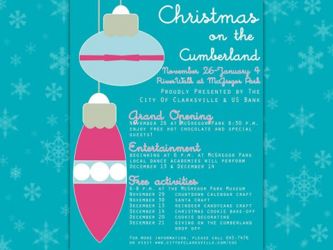 2013 Christmas on the Cumberland Grand Opening Tuesday night.