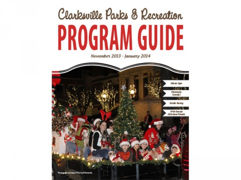 2013 Clarksville Parks and Recreation Winter Program Guide