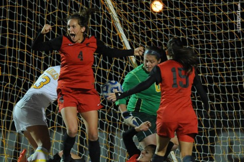 Austin Peay Women's Soccer loses to Morehead State. (APSU Sports Information)
