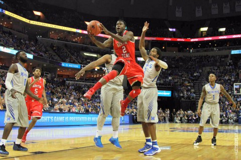 APSU drops game to Memphis 96-69. (APSU Sports Information)