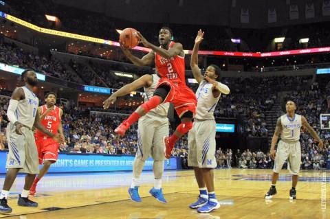 APSU drops game to Memphis 96-69. (APSU Sports Information)