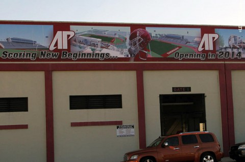 Austin Peay Governors Stadium. (APSU Sports Information)
