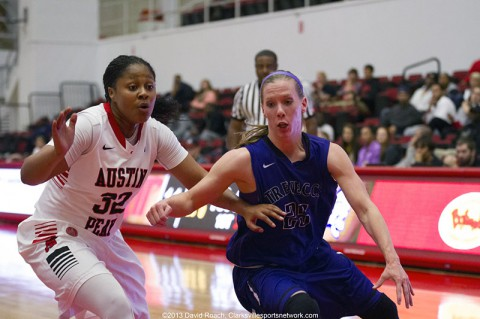 Austin Peay Lady Govs defeat Trevecca 98-77. (David Roach Clarksville Sports Network)