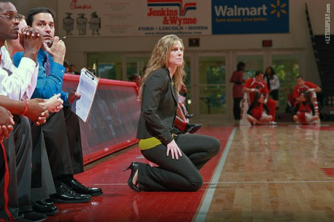 Head coach Carrie Daniels announced the addition of three early signees, Monday. (Brittney Sparn-APSU Sports Information)