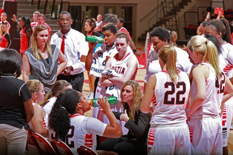 Austin Peay Women's Basketball. (Brittney Sparn-APSU Sports Information)
