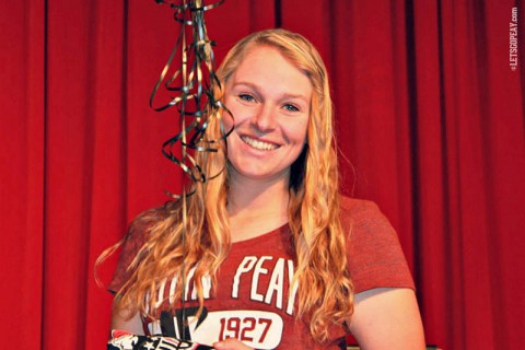 Juliet Eaton signs with Austin Peay State University. (APSU Sports Information)
