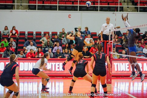 APSU drops home match to MTSU at Dunn Center.