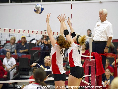 Austin Peay Women's volleyball.