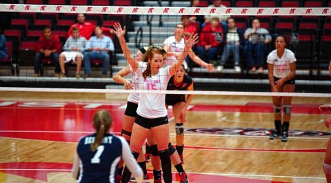 APSU Volleyball concludes season at Morehead State. (Michael Rios Clarksville Sports Network)