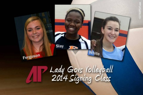Austin Peay State University signs three to Volleyball Team. (APSU Sports Information)