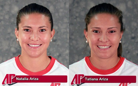 APSU's Natalia Ariza and Tatiana Ariza