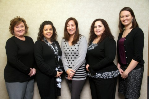 Dr. Emi LeJeune and staff of The Center for Audiology. (Bill Larson-Clarksville Online)