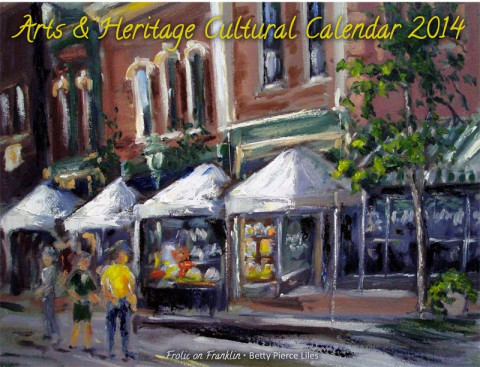 2013 Arts and Heritage Cultural Calendar