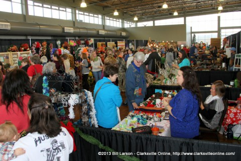 2nd Annual Handmade Holidays-a Crafters Bazaar was held Saturday at the Wilma Rudolph Event Center.