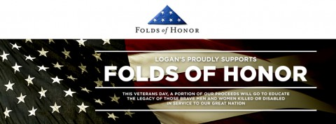 Logans, Folds of Honor Veterans Day