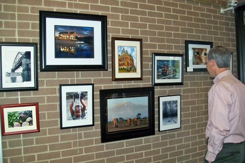 Friends of Photography works at Planters Bank in December