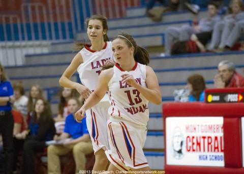 Montgomery Central Girl's Basketball defeats Clarksville Academy 56-30. (David Roach-Clarksville Sports Network)