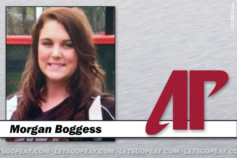 Morgan Boggess signs NLI to play for Austin Peay Women's Softball. (APSU Sports Information)