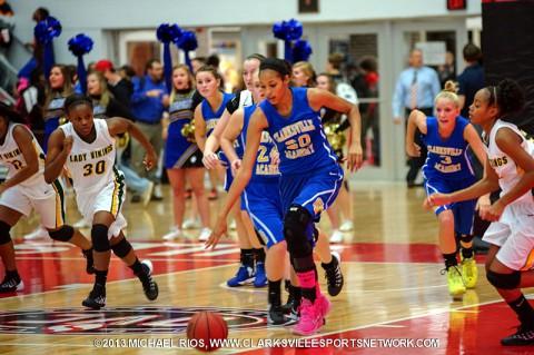 Northwest Lady Vikings defeat Clarksville Academy Basketball