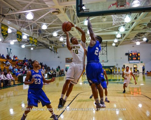 Northwest Vikings falls to Lavergne 86-62. (Michael Rios-Clarksville Sports Network)