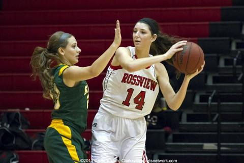 Rossview High School Lady Hawks defeats Gallatin 56-37.