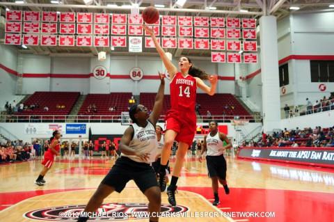 Rossview High School Girls Basketball defeats West Creek at CMCSS Jamboree.