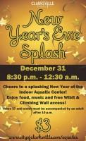 2013 New Year's Eve Splash