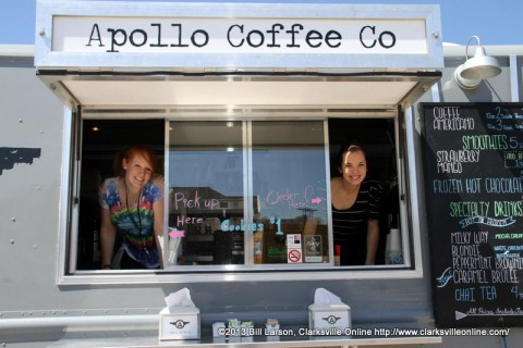 Apollo Coffee Co. was just one of the vendors at the 2013 Rivers and Spires Festival.