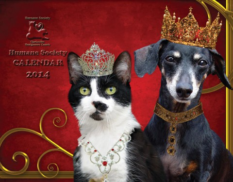 2014 Humane Society of Clarksville Montgomery County Calendars