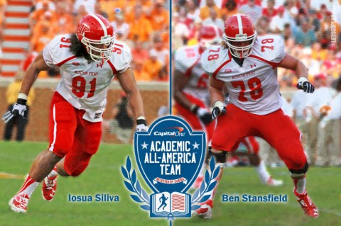 Austin Peay Football players named Capital One Second-Team Division I Academic All-Americans. (APSU Sports)
