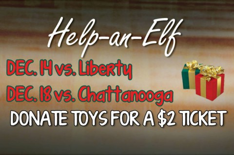 Austin Peay's Health and Human Performance Club's Joy of Giving Toy Drive.