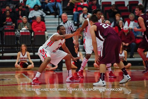 APSU's Travis Betran helps Governors get win over Youngstown State Saturday night. Austin Peay Men's Basketball.
