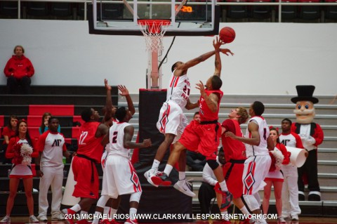 APSU Men's Basketball to host ETSU Wednesday night. (Michael Rios-Clarksville Sports Network)