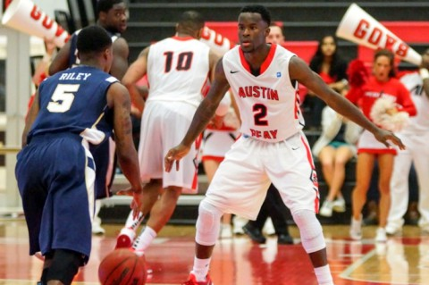 Austin Peay Men's Basketball vs. UT Martin Thursday at the Dunn Center. (Michael Rios-Clarksville Sports Network)