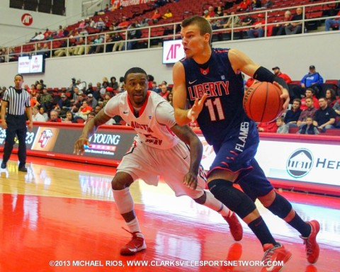 Austin Peay victory over Liberty ends BracketBuster.