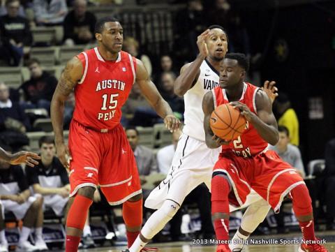 Austin Peay Men's Basketball drops heart-breaker to Vanderbilt 56-54.