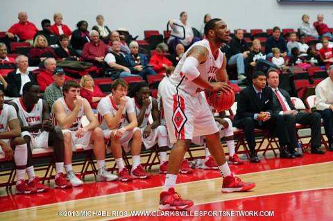 Austin Peay Men's Basketball vs. Lipscomb Thursday.