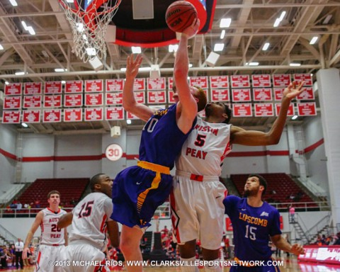 Austin Peay Men's Basketball falls to Lipscomb 88-83.
