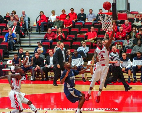 Austin Peay State University Men's Basketball falls to East Tennessee 84-79.
