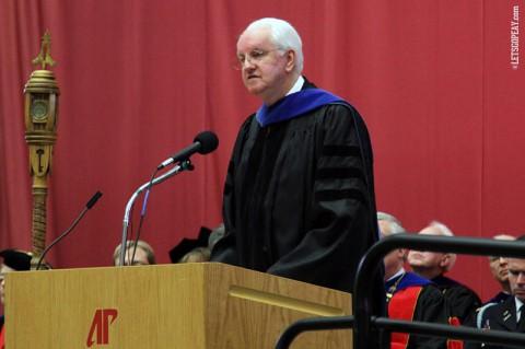 2013 APSU National Alumni Association Distinguished Professor Award recipient Dr. Bruce Myers