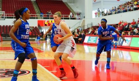 Austin Peay Women's Basketball at Wichita State Tournament