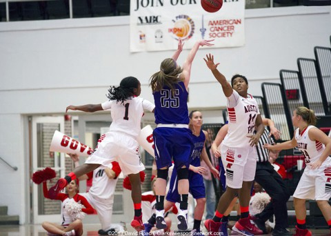 Austin Peay Women's Basketball drops final game to Omaha. (Clarksville Sports Network)