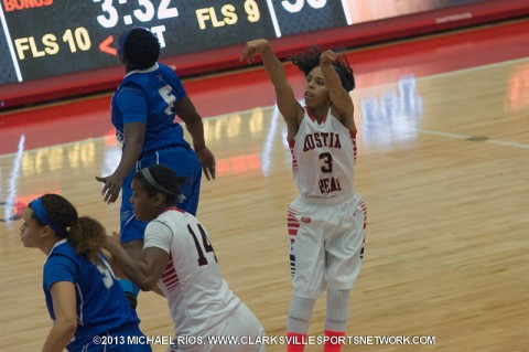 Austin Peay Women's Basketball loses to Ole Miss.