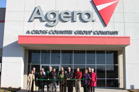 Agero opened the doors of it's Clarksville site in October 2012.