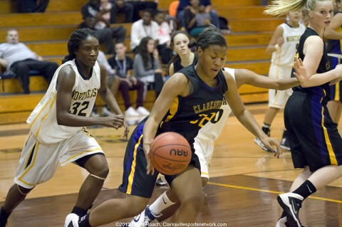 Clarksville High School Girls basketball defeats Northeast Eagles 55-38. (David Roach-Clarksville Sports Network)