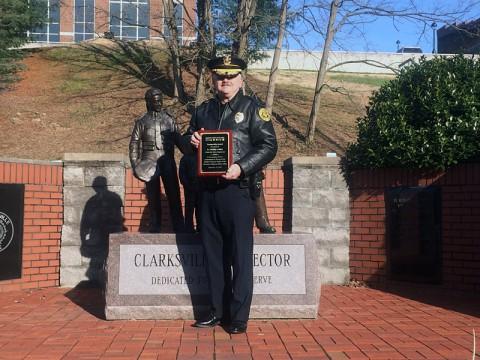 Clarksville Police Lieutenant Philip Ashby