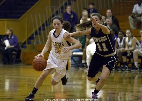 Clarksville High School Girls Basketball defeats Kenwood 53-41. (David Roach-Clarksville Sports Network)