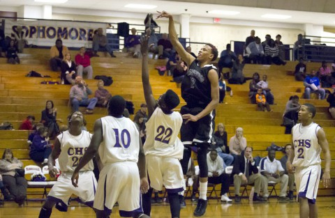 Kenwood Boy's Basketball keeps Clarksville High winless 59-50. (David Roach Clarksville Sports Network)