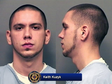 Keith Kuzyk (pictured) and Mark Dewayne McMurry have been charged with first degree murder.