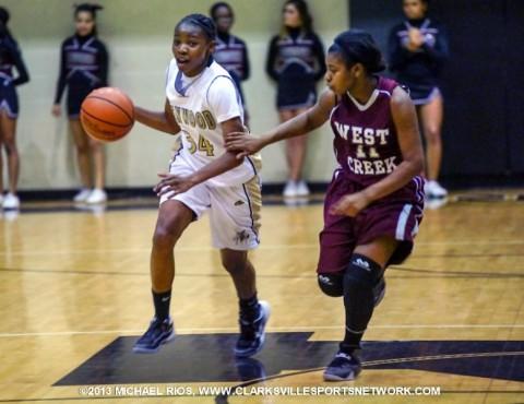 Kenwood Girls Basketball defeats West Creek.